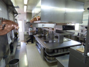 fourneau de cuisson rosinox château de marcay