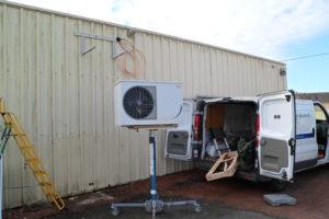 montage équipement frigo